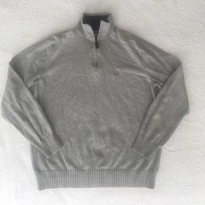 Nautica Boys Sweater Grey Size M (8-10)